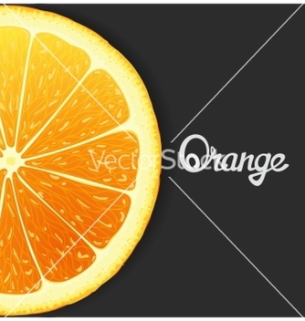 Free just orange vector - Free vector #234879