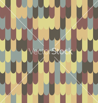 Free abstract seamless roof tile pattern vector - бесплатный vector #235029