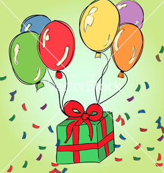 Free happy birthday drawing 2 vector - Free vector #235119