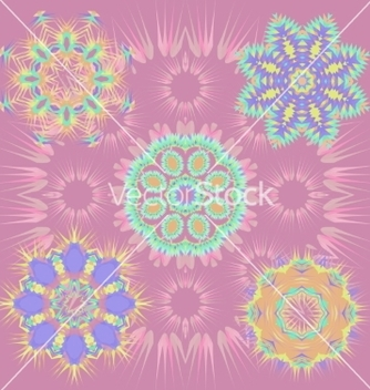 Free 6 round patterns vector - Kostenloses vector #235579