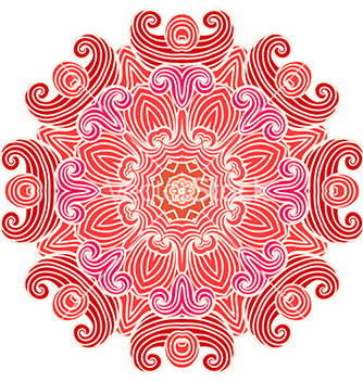 Free hand drawn ornamental background vector - Free vector #235669