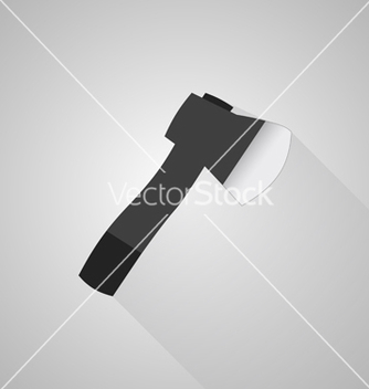 Free axe icon on gray background vector - Free vector #235809