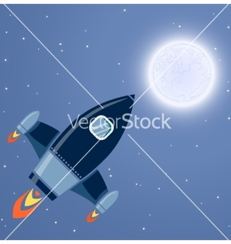Free rocket space vector - Free vector #236839