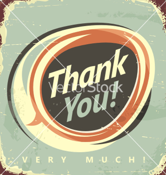 Free thank you very much vector - vector #236979 gratis