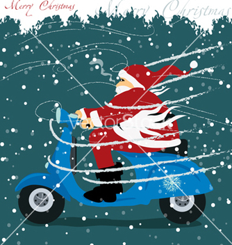 Free christmas greeting card vector - Free vector #237259