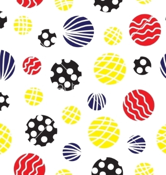 Free seamless background with circles vector - Kostenloses vector #237449