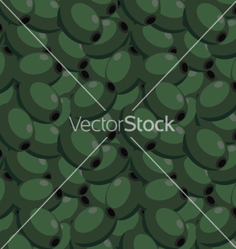 Free seamless texture with olives vector - Free vector #237799