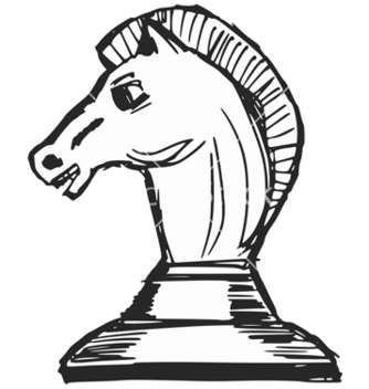 Free a chess figure vector - Free vector #237819