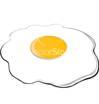Free fried egg vector - Free vector #238069