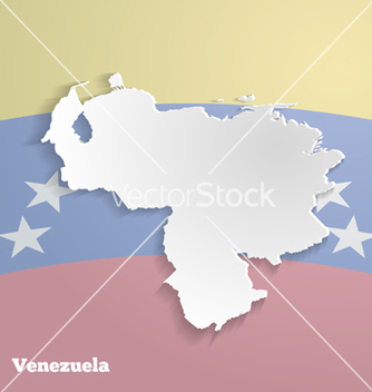 Free abstract icon map of venezuela vector - Free vector #238109