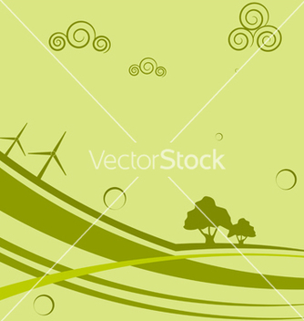 Free abstract background with wind generators vector - Free vector #238349