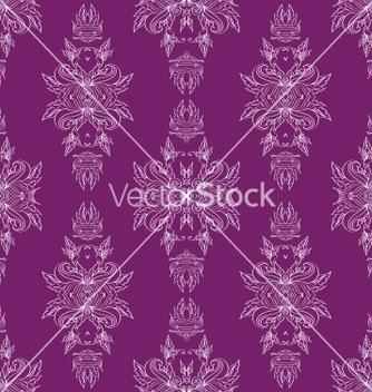 Free seamless pattern antique ornament vector - Free vector #238569