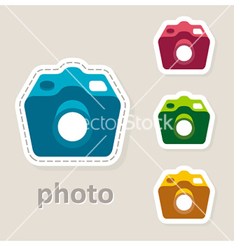 Free photo camera lens icon vector - vector #238639 gratis