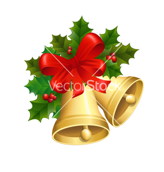 Free christmas bells vector - Free vector #239079