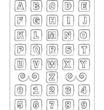 Free alphabet vector - Kostenloses vector #239109