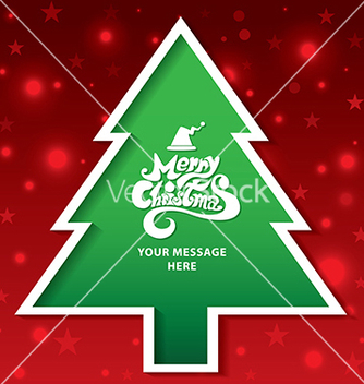 Free christmas tree vector - Free vector #239169