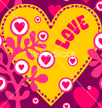 Free love tile vector - Free vector #239539