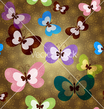 Free brown seamless spring pattern vector - Free vector #239559