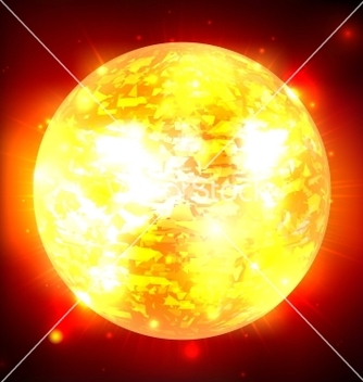 Free exploding planet vector - Free vector #239609