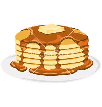 Free pancake vector - vector gratuit #239709