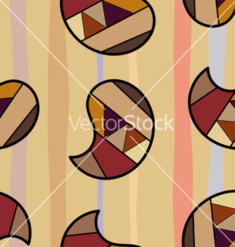 Free seamless texture with colorful graphic elements vector - Free vector #240049
