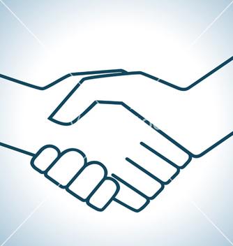 Free handshake graphic vector - Free vector #240729