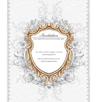 Free vintage floral frame vector - Kostenloses vector #240789