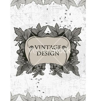 Free vintage floral frame vector - Kostenloses vector #240999
