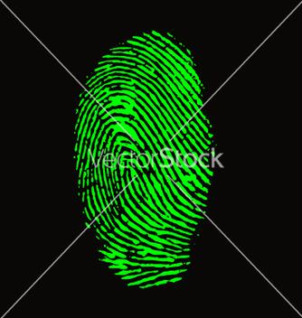 Free fingerprint vector - Kostenloses vector #242239