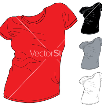 Free shirt pack 2 vector - Free vector #242389
