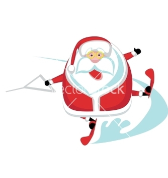 Free extreme santa vector - Free vector #242449