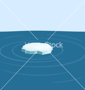 Free floe in the sea yeps10 vector - Free vector #242489