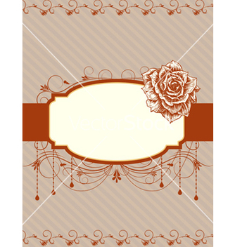 Free vintage frame vector - Free vector #242839