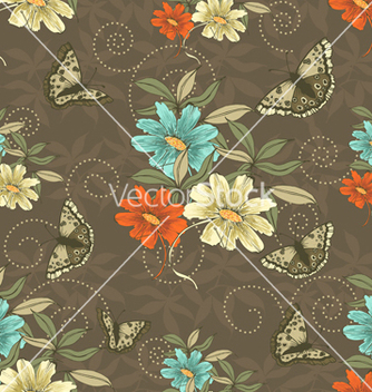 Free seamless pattern vector - Kostenloses vector #242909