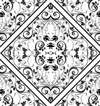 Free damask seamless pattern vector - Free vector #242939