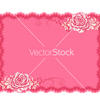Free frame with floral vector - Kostenloses vector #242949