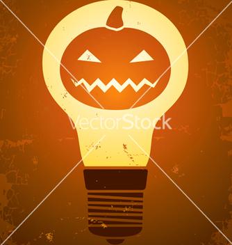 Free halloween bulb vector - vector gratuit #242989