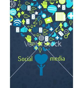 Free social media concept vector - Free vector #243379