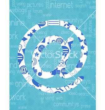 Free social media concept vector - Free vector #243389
