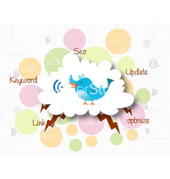 Free social media concept vector - Kostenloses vector #243409