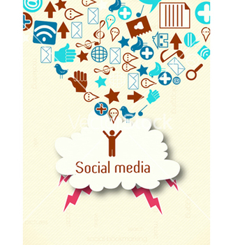 Free social media concept vector - Free vector #243439