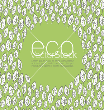 Free ecology poster background vector - Kostenloses vector #243469