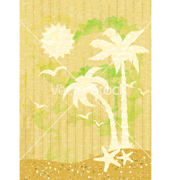 Free summer background vector - Free vector #243619