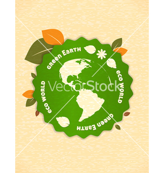 Free eco friendly design vector - Kostenloses vector #243699
