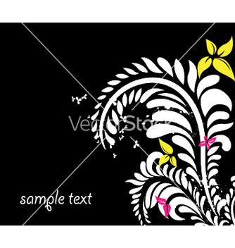 Free spring floral background vector - Free vector #243989