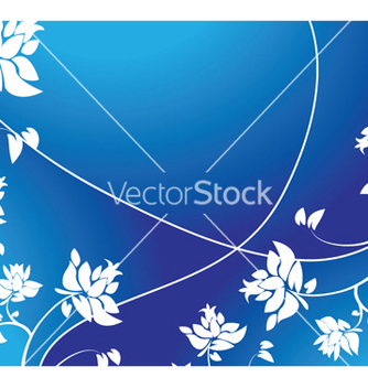 Free abstract floral background vector - Kostenloses vector #244269