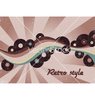Free retro music poster vector - бесплатный vector #244519