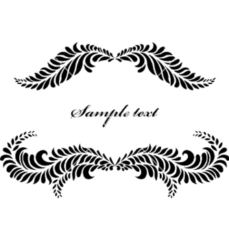 Free vintage floral frame vector - Free vector #244629