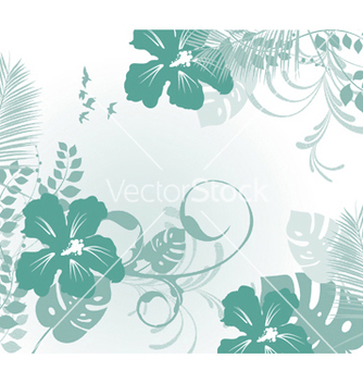 Free abstract floral background vector - Free vector #244649