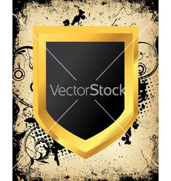 Free grunge shield vector - Kostenloses vector #245039